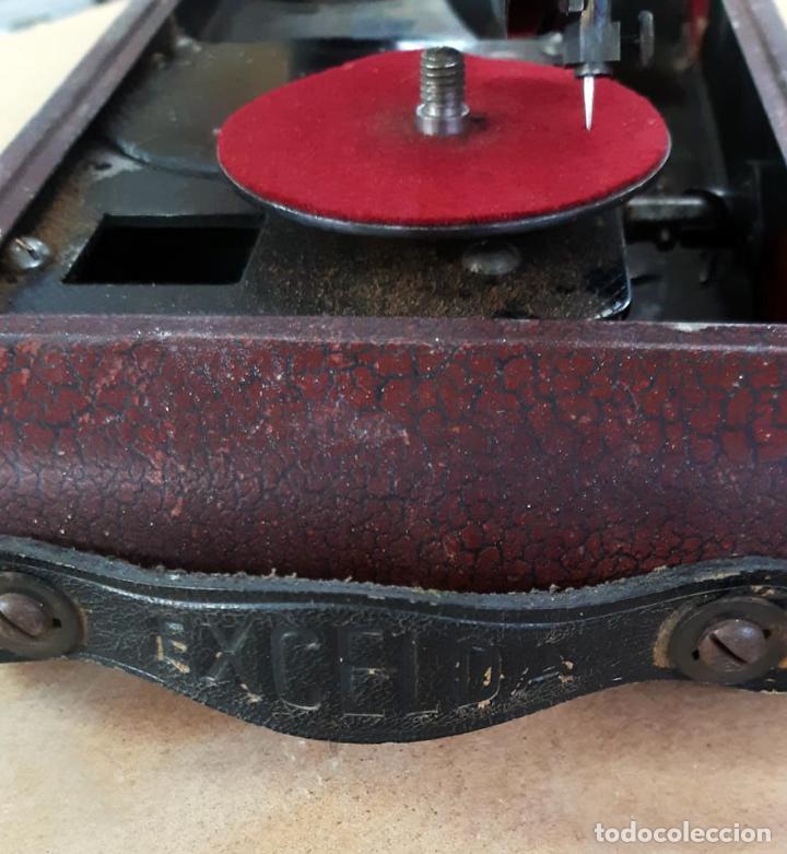 Gramófonos y gramolas: GRAMÓFONO DE VIAJE THORENS EXCELDA Y AGUJAS COLUMBIA. AÑOS 30 - Foto 9 - 199666976