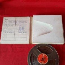 Gramófonos y gramolas: CINTA ANTIGUA DE MAGNETOFON DES CONOZCO SI LLEVA ALGO GRABADO. Lote 200633385