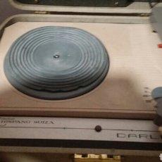 Gramófonos y gramolas: TOCADISCOS HISPANO SUIZA ,DARLING 201. Lote 203379098