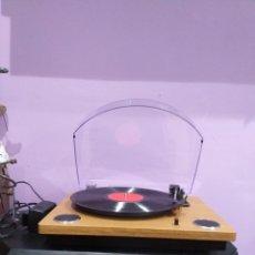 Gramófonos y gramolas: TOCADISCOS USB SILVERCREST FUNCIONA PERFECTAMENTE- VER LAS IMÁGENES. Lote 205068261