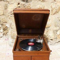 Gramófonos y gramolas: GRAMÓFONO POLYPHONE MUSIK. Lote 206975118