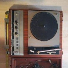 Gramófonos y gramolas: ANTIGUO TOCADISCOS MARCA WERNER. Lote 208417516