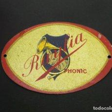 Gramófonos y gramolas: CHAPA DE GRAMOLA PHONIC RAYLIA SIN ESTRENAR. Lote 208974018