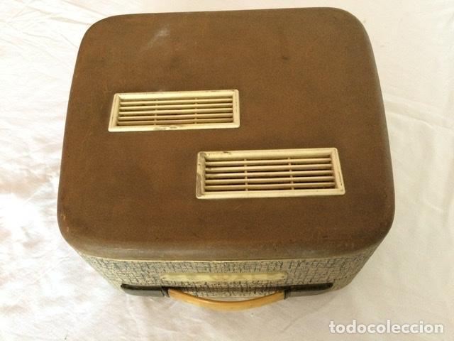 Gramófonos y gramolas: Antiguo tocadiscos De Wald, Vintage, años 1950/60 - Foto 3 - 209044313