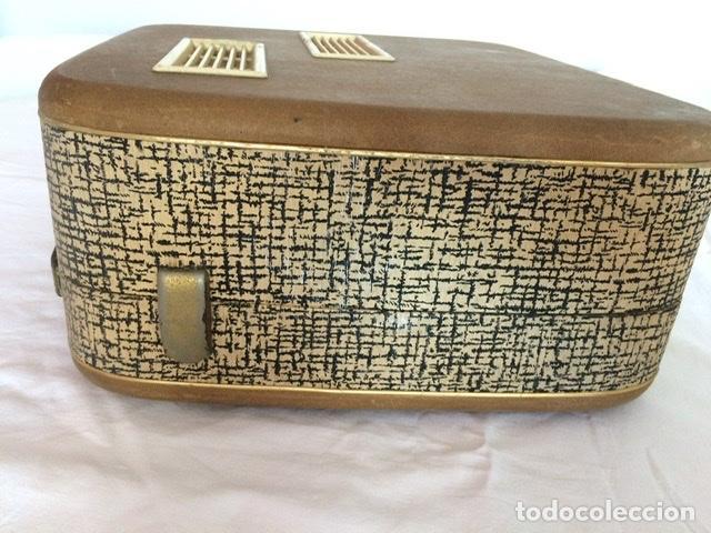 Gramófonos y gramolas: Antiguo tocadiscos De Wald, Vintage, años 1950/60 - Foto 4 - 209044313