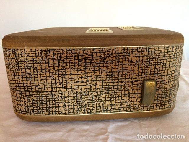 Gramófonos y gramolas: Antiguo tocadiscos De Wald, Vintage, años 1950/60 - Foto 6 - 209044313