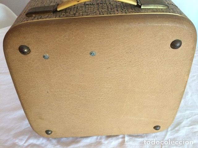 Gramófonos y gramolas: Antiguo tocadiscos De Wald, Vintage, años 1950/60 - Foto 7 - 209044313