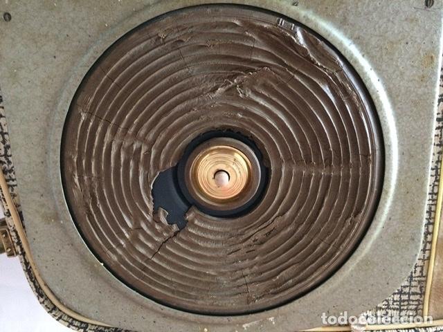 Gramófonos y gramolas: Antiguo tocadiscos De Wald, Vintage, años 1950/60 - Foto 13 - 209044313