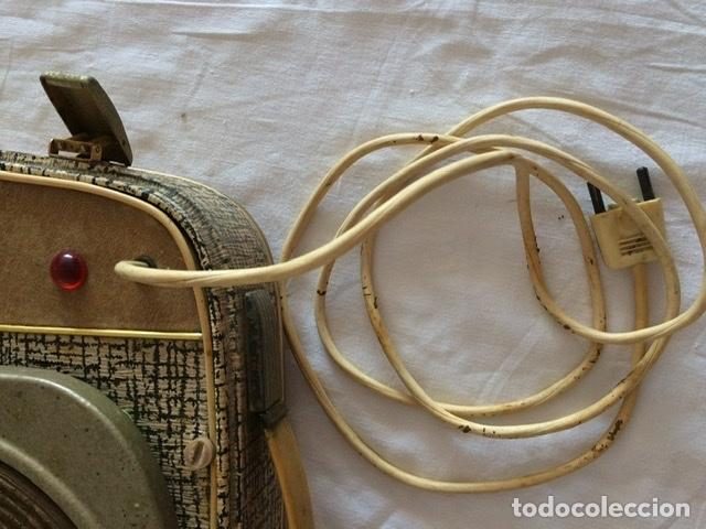 Gramófonos y gramolas: Antiguo tocadiscos De Wald, Vintage, años 1950/60 - Foto 15 - 209044313