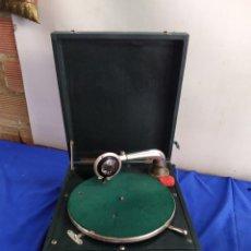 Gramófonos y gramolas: ANTIGUA GRAMOLA DE MANIVELA SIGLO XIX. Lote 210842996