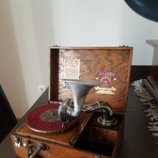 Gramófonos y gramolas: ANTIGUO GRAMOFONO THE GRIPPA DE 1924 -RARO-. Lote 215563535