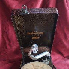 Gramófonos y gramolas: GRAMOFONO COLUMBIA MODELO 100, EXCELENTE SONIDO. VER VIDEO Y DESCRIPCION. Lote 216023956