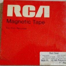 Gramophones: 1 CINTA MAGNETOFÓNICA NUEVA RCA 1800 FEET, 7 INCH REEL. Lote 217181435