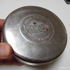 Gramófonos y gramolas: POCKET PHONOGRAPH MIKIPHONE FONÓGRAFO DE BOLSILLO ANTIGUO. Lote 217933298