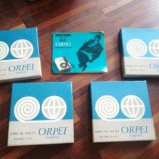 Gramófonos y gramolas: CURSO DE INGLES ORPEI MAGNETIC 4 TOMOS VER FOTOS. Lote 218402660