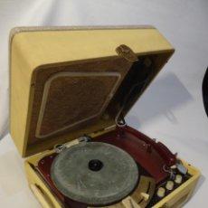 """Gramófonos y gramolas: ANTIGUO TOCADISCOS MELODIAL """"HOLIDAY"""". Lote 219237417"""
