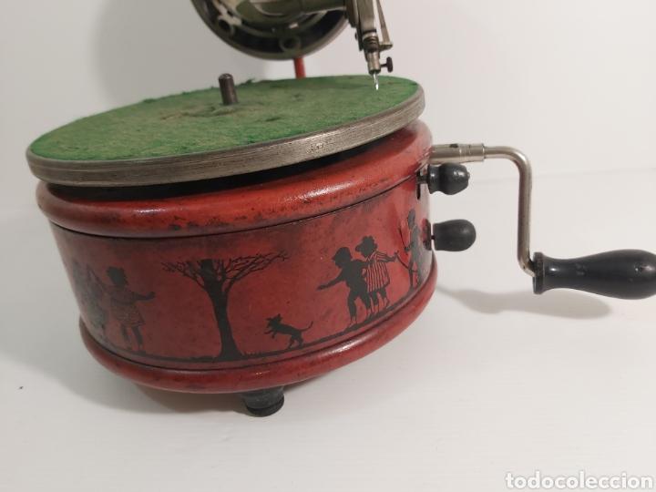 Gramófonos y gramolas: GRAMOFONO NIRONA - Foto 3 - 219467505