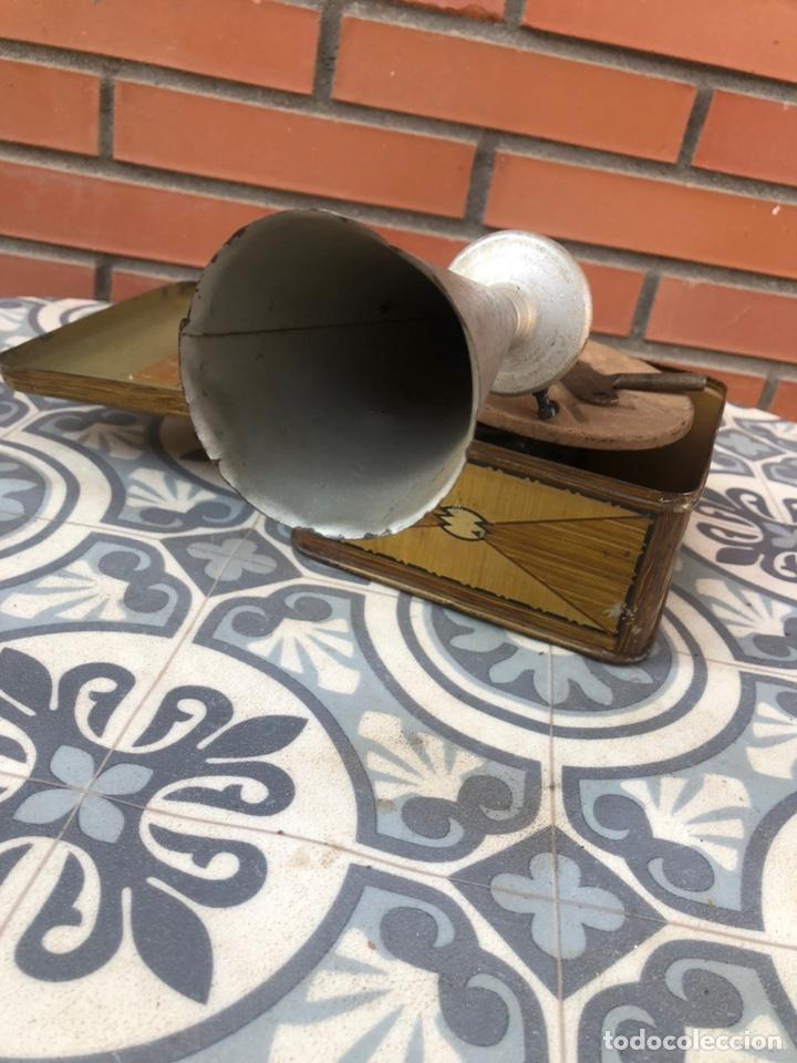 Gramófonos y gramolas: Pequeño gramófono gramola infantil pygmex. Más poniendo USMO - Foto 5 - 220541886