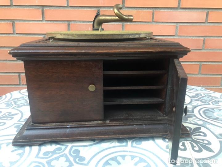 Gramófonos y gramolas: Victrola VI victor gramofono más poniendo USMO rca VV-VI talking machine - Foto 3 - 220628603