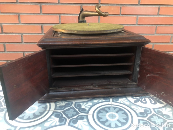 Gramófonos y gramolas: Victrola VI victor gramofono más poniendo USMO rca VV-VI talking machine - Foto 4 - 220628603