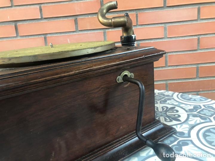 Gramófonos y gramolas: Victrola VI victor gramofono más poniendo USMO rca VV-VI talking machine - Foto 6 - 220628603