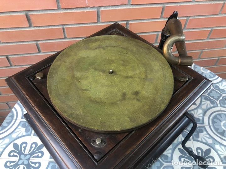 Gramófonos y gramolas: Victrola VI victor gramofono más poniendo USMO rca VV-VI talking machine - Foto 8 - 220628603
