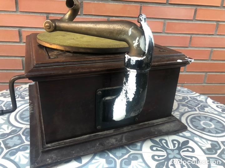 Gramófonos y gramolas: Victrola VI victor gramofono más poniendo USMO rca VV-VI talking machine - Foto 9 - 220628603