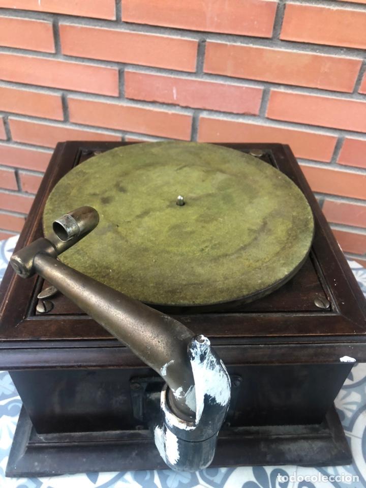 Gramófonos y gramolas: Victrola VI victor gramofono más poniendo USMO rca VV-VI talking machine - Foto 12 - 220628603