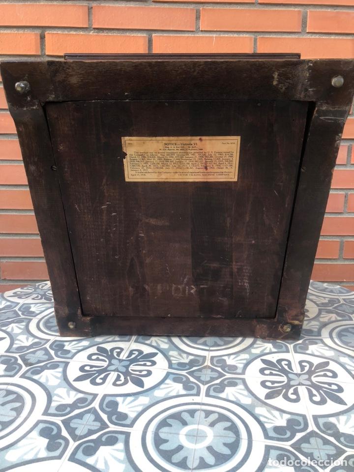 Gramófonos y gramolas: Victrola VI victor gramofono más poniendo USMO rca VV-VI talking machine - Foto 24 - 220628603