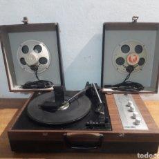 Gramófonos y gramolas: TOCADISCOS PORTATIL CHOPIN. Lote 220752102