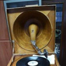Gramófonos y gramolas: GRAMOPHONE PATHE REFLEX. Lote 221918415