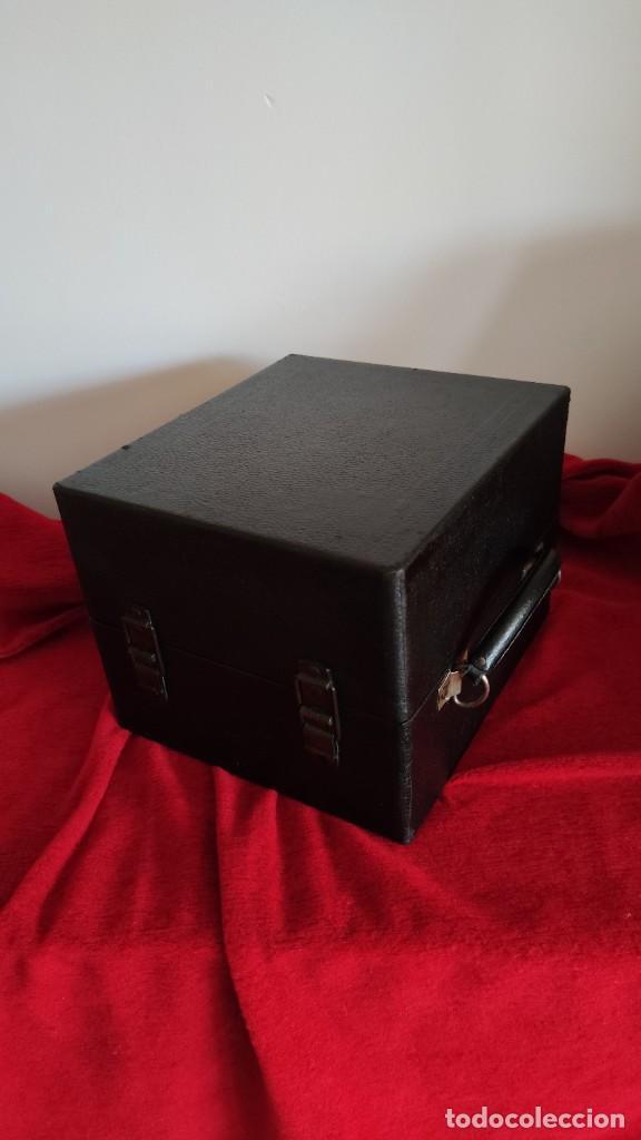 Gramófonos y gramolas: GRAMOFONO DECCA JUNIOR DE 1924/28, IMPECABLE Y FUNCIONANDO CON GRAN SONIDO (VIDEO) - Foto 9 - 222012665