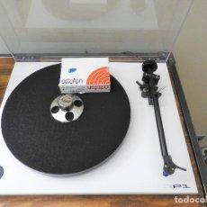Gramófonos y gramolas: TOCADISCOS REGA RP1 CON CAPSULA Y AGUJA ORTOFON 2M BLUE. Lote 222260972