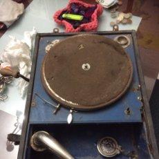 Gramófonos y gramolas: GRAMOLA ORIGINAL 1924. Lote 222295658