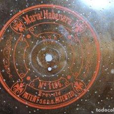 Gramophones: DISCO METAL PARA CAJA DE MUSICA-ORGANILLO SYMPHONION-POLIPHON-DIAMETRO 24 CM----------MARIA HABANERA. Lote 223024930