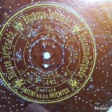 Gramófonos y gramolas: DISCO METAL PARA CAJA DE MUSICA-ORGANILLO SYMPHONION-POLIPHON-DIAMETRO 24 CM- ----BOCCACCIO SERENADE. Lote 223025243
