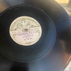 Gramófonos y gramolas: DISCO DE PIZARRA JAN KUBELIK FIRMADO GRAMÓFONO GRAMÓLA RADIO USMO. Lote 224071303