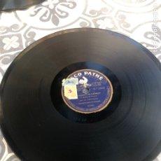 Gramófonos y gramolas: DISCO PATHE GRAMÓLA GRAMÓFONO RADIO USMO. Lote 224071765
