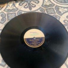 Gramófonos y gramolas: DISCO PATHE PROPAGANDA SOY DE VALENCIA/AGUSTINA LA CANTINERA. GRAMÓLA GRAMÓFONO RADIO USMO. Lote 224073298