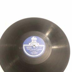 Gramophones: DISCO GRAMÓLA GRAMÓFONO FANDANGO POR SOLEARES TARANTAS MÁS PONIENDO USMO. Lote 224768772
