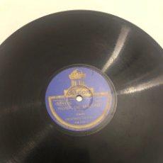 Gramófonos y gramolas: DISCO GRAMÓFONO GRAMÓLA ROSA DE MADRID CHOTIS/EL TRIUNFO DEL MANTÓN. MÁS PONIENDO USMO. Lote 224770428