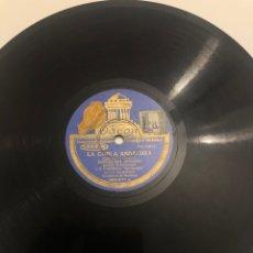 Gramófonos y gramolas: DISCO GRAMÓFONO GRAMÓLA LA COPLA ANDALUZA. Lote 224771011