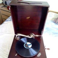 Gramófonos y gramolas: GRAMOFONO/GRAMOLA MARCA PATHE-FRANCIA PRIMERAS DECADAS SIGLO XX. Lote 226447565