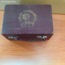 Gramophones: GRAMÓFONO CURSOS FONOBILINGÜES DE LA CASA CCC. Lote 228450620