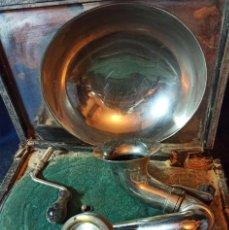 Phonographes: GRAMOFONO ODEON ANTIGUO PARA HACER LA CAJA NUEVA. Lote 230439890