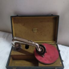 Gramófonos y gramolas: IMPRESIONANTE PERFECTAFHONE DE MANIVELA PARÍS SIGLO XIX. Lote 254856650