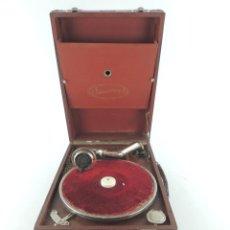 Grammofoni e gramolas: ANTIGUO TOCADISCO ARMONICA EXCELENTE OBJETO DE DECORACION. Lote 234916710