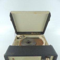 Grammofoni e gramolas: TOCADISCOS PORTÁTIL DE MALETA COSMO STUDIO DUAL. Lote 234917010