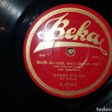 Gramofones e jukeboxes: LOTE 3 DISCOS PIZARRA. Lote 235549120