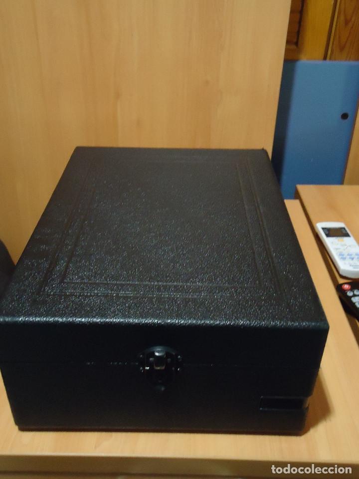 Gramófonos y gramolas: MAGNIFICO E IMPECABLE GRAMOFONO VOZ DE SU AMO - Foto 3 - 236894485